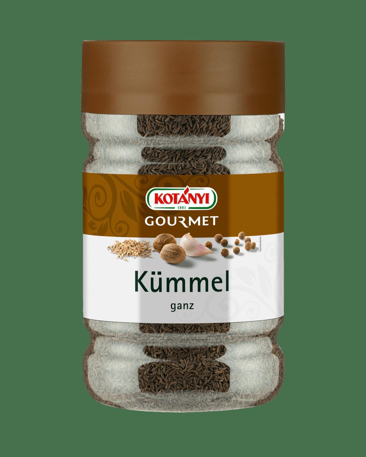Kotányi Gourmet Kümmel ganz in der 1200ccm Dose