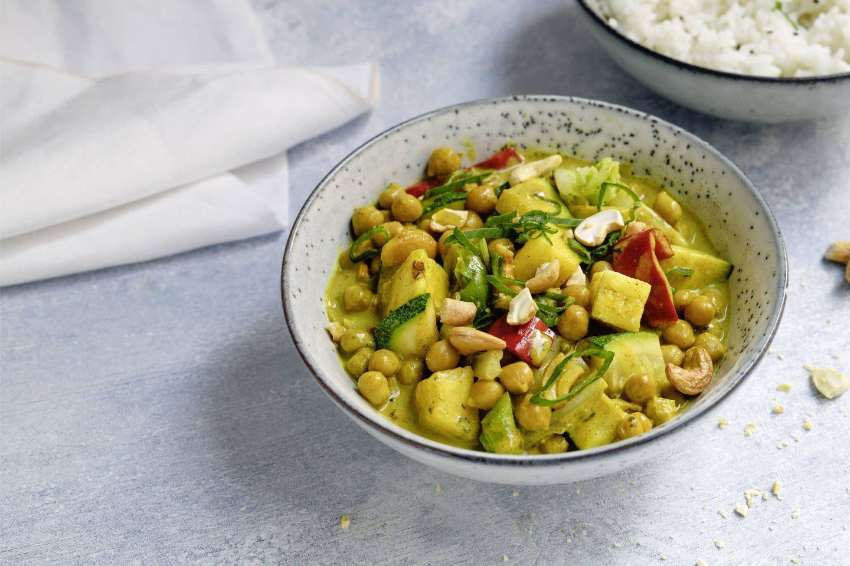 Kichererbsen Curry mit VEGGY Exotic