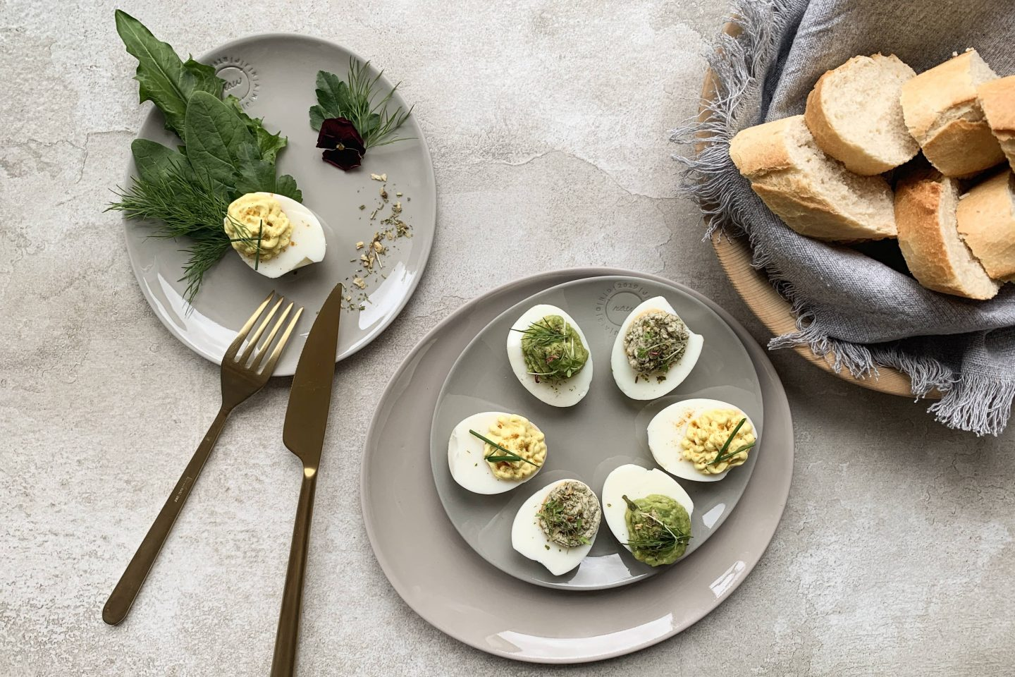Filled Eggs 3
