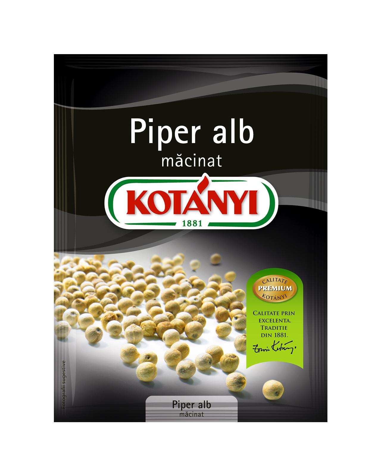 154809 Kotanyi Piper Alb Macinat B2c Pouch