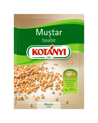 1554095 Kotanyi Mustar Boabe B2c Pouch