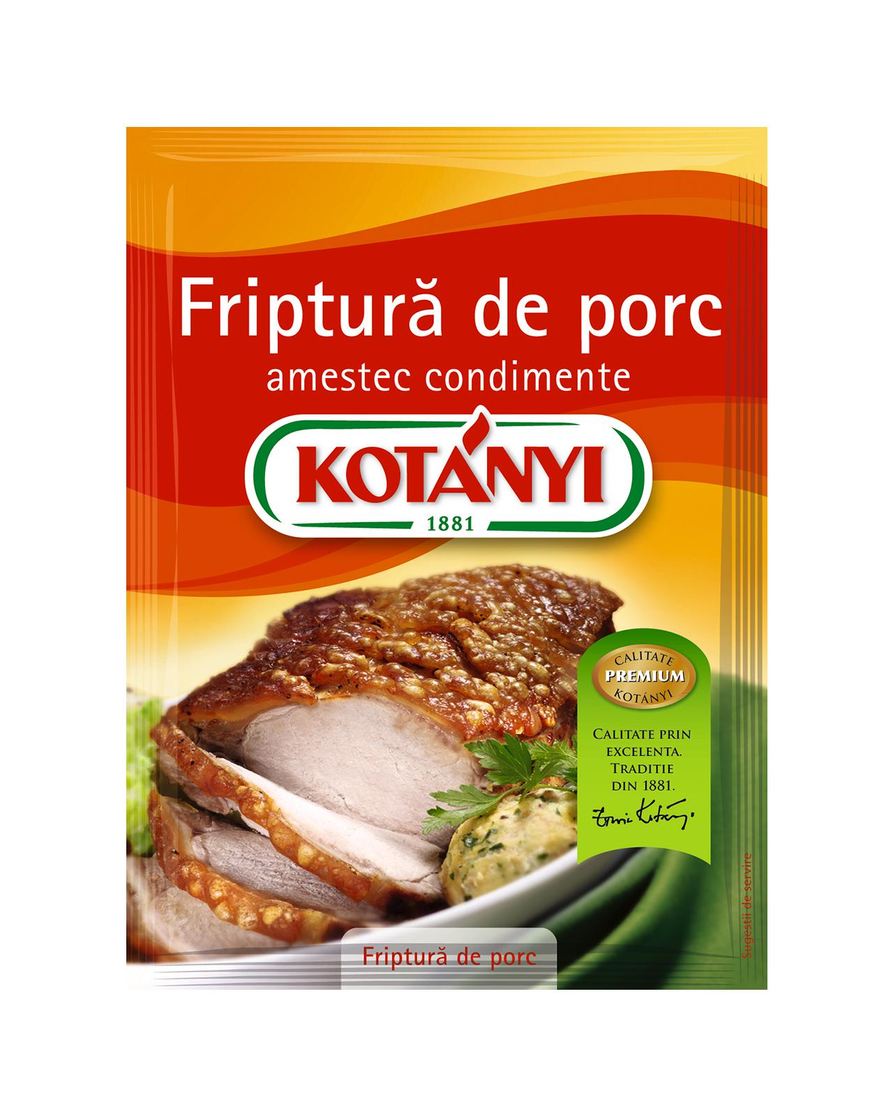 158809 Kotanyi Friptura De Porc B2c Pouch