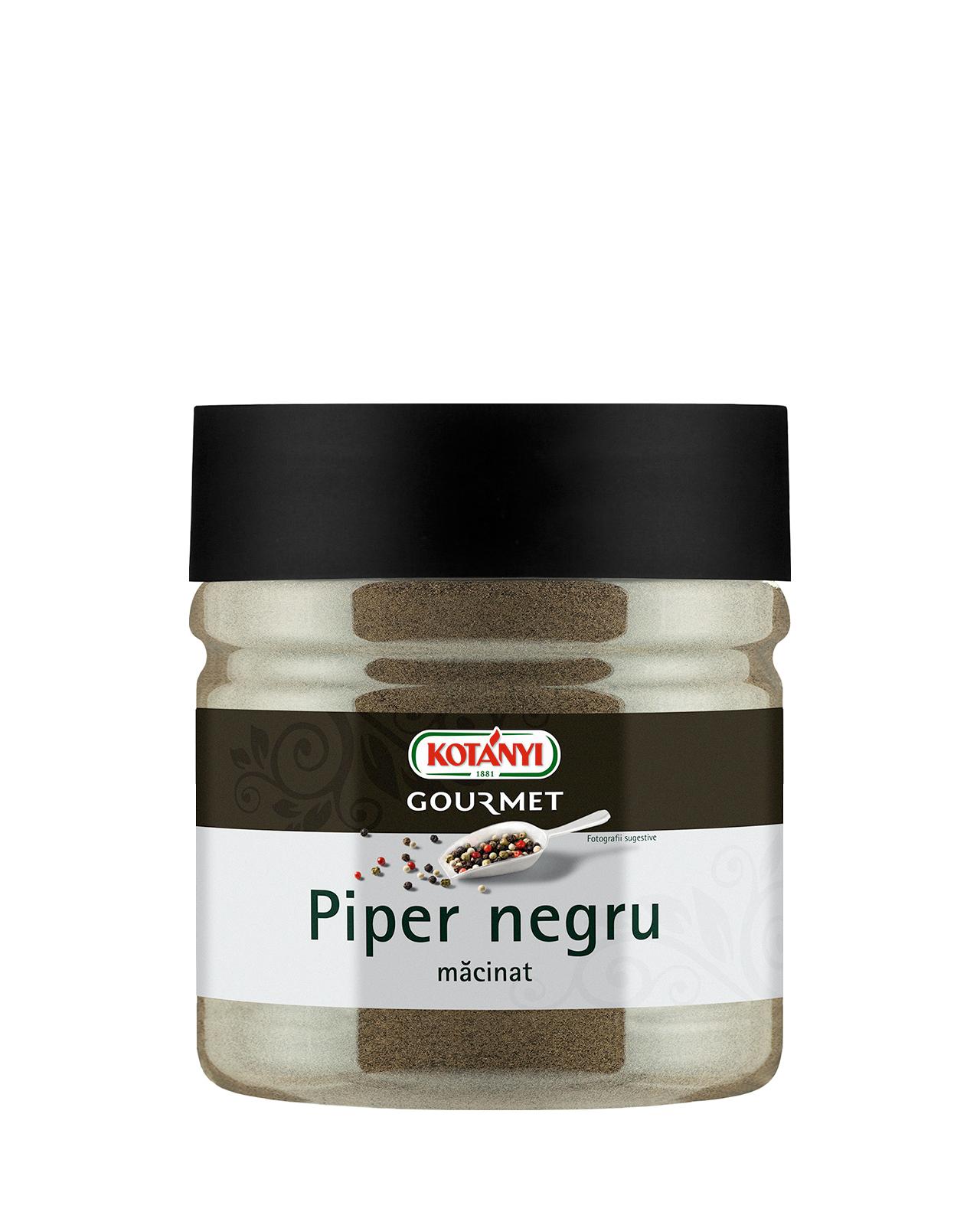 735609 Kotanyi Piper Negru Macinat B2b 400 Tin